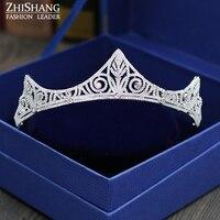 2017 Women Crown Hair Stick Hair Accessories Tiara Hair Clips For Women Crystal Hair Jewelry Bridal