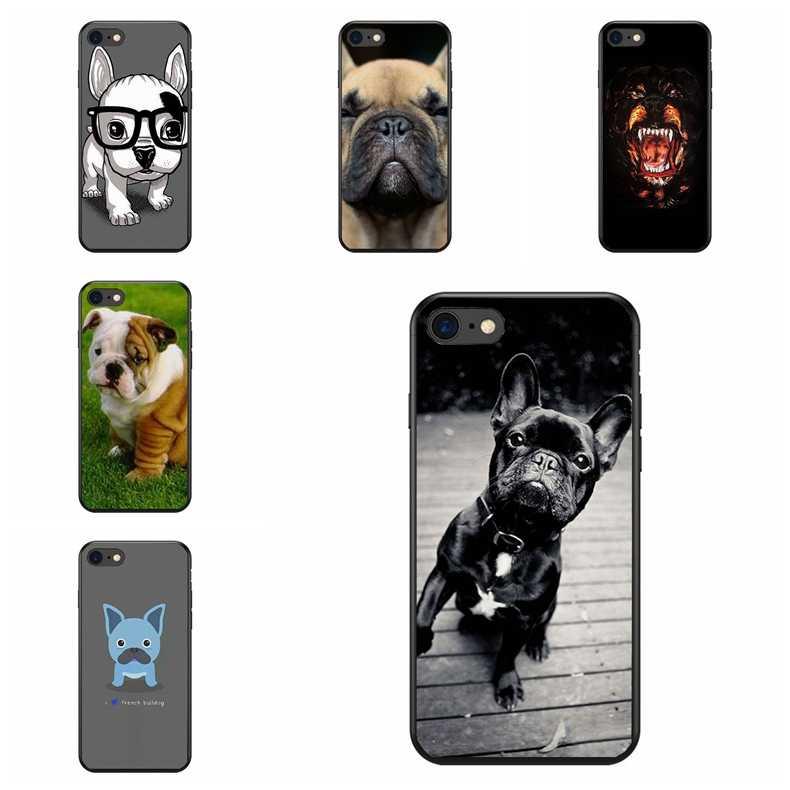 Милый Забавный Мопс французский щенок бульдога чехол для телефона чехол для iPhone X XS Max XR 6 6 S 7 8 плюс 5 5S SE samsung Galaxy S7 S8 край