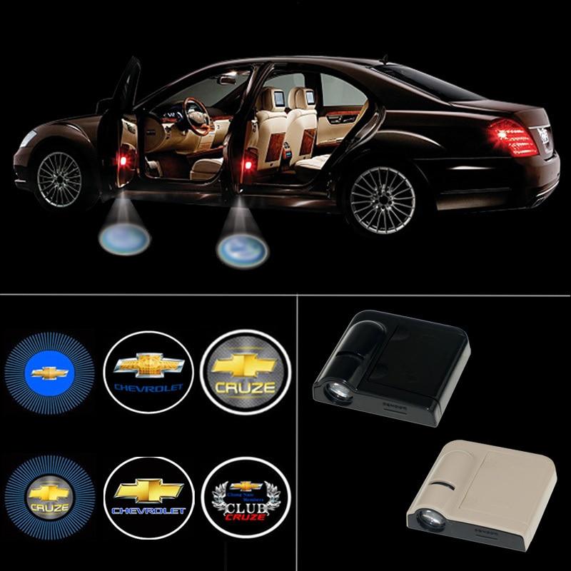 Wireless Led Car Door Light Logo Projector Welcome Ghost Shadow