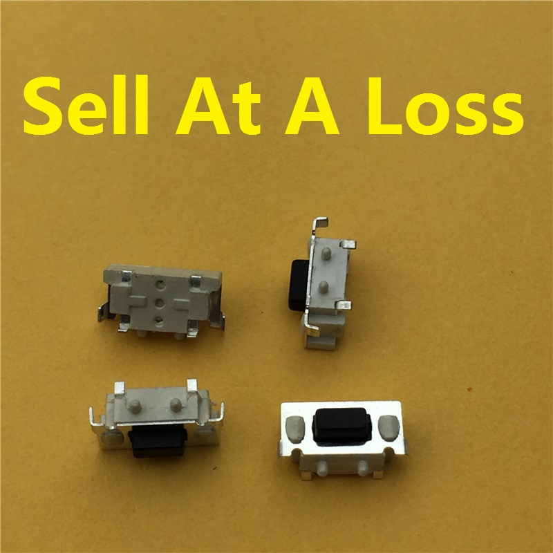 50pcs/lot SMT 3X6X3.5MM 2PIN Tactile Tact Push Button Micro Switch G71 Momentary Free Shipping