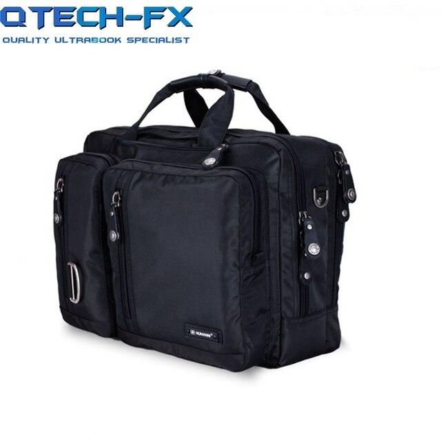 New Briefcase Backpack Large 14 17 Inch Notebook Laptop Bag Man Oblique Rucksack Travel