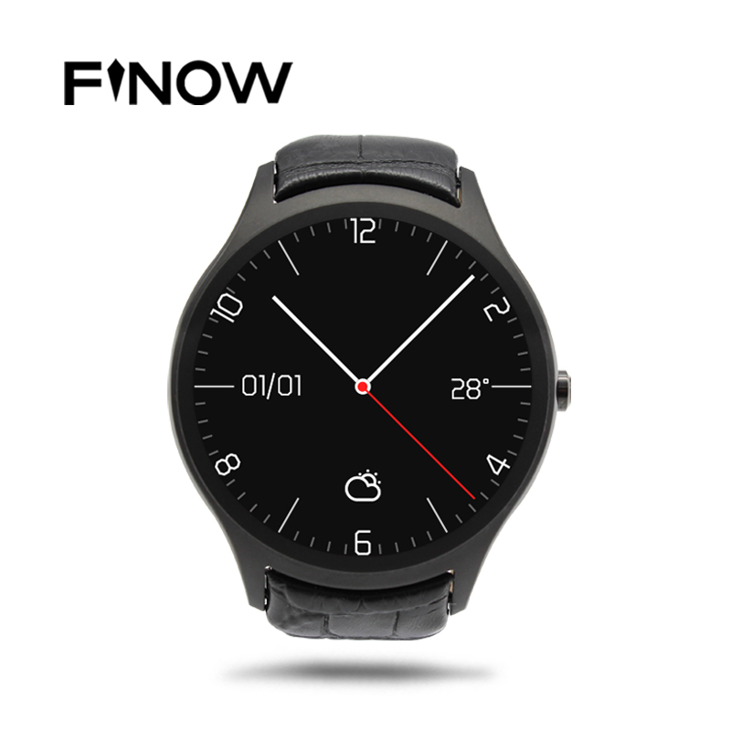 Finow X1 K8 Mini Smart Watch Android 4 4 Heart Rate Pedometer 3G WIFI GPS Clock