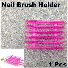 1pcs UV Gel Brush Pen Holder Nail Art Fashion DIY Tools Needed Makeup Acrylic Display Stand