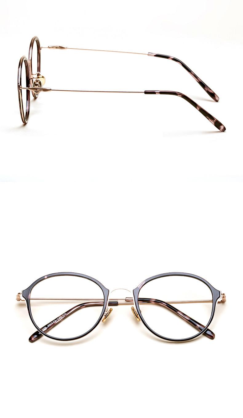 e2a9240008b2f LIYUE Vintage optical Eyeglasses Frame Prescription Eyewear Frames ...