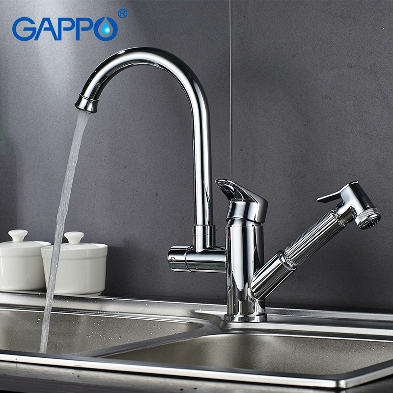 Gappo Kitchen Faucets Deck Mounted Sink Kitchen Water Taps Mixer Sink Faucet Kitchen Drinking Water Faucet