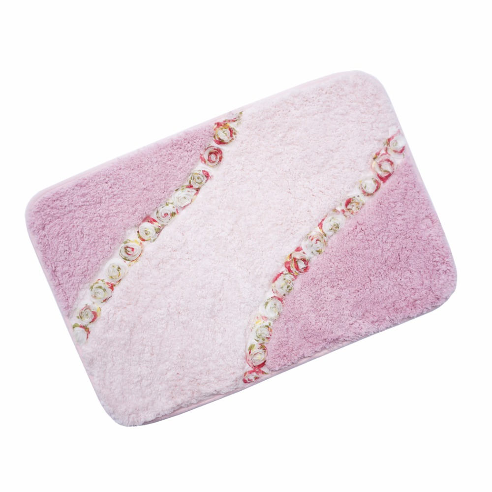 Online Buy Wholesale Pink Bath Rug From China Pink Bath