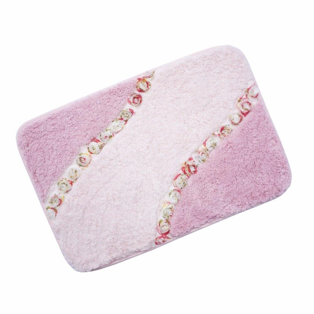 Online kopen wholesale roze badkamer matten uit china roze ...