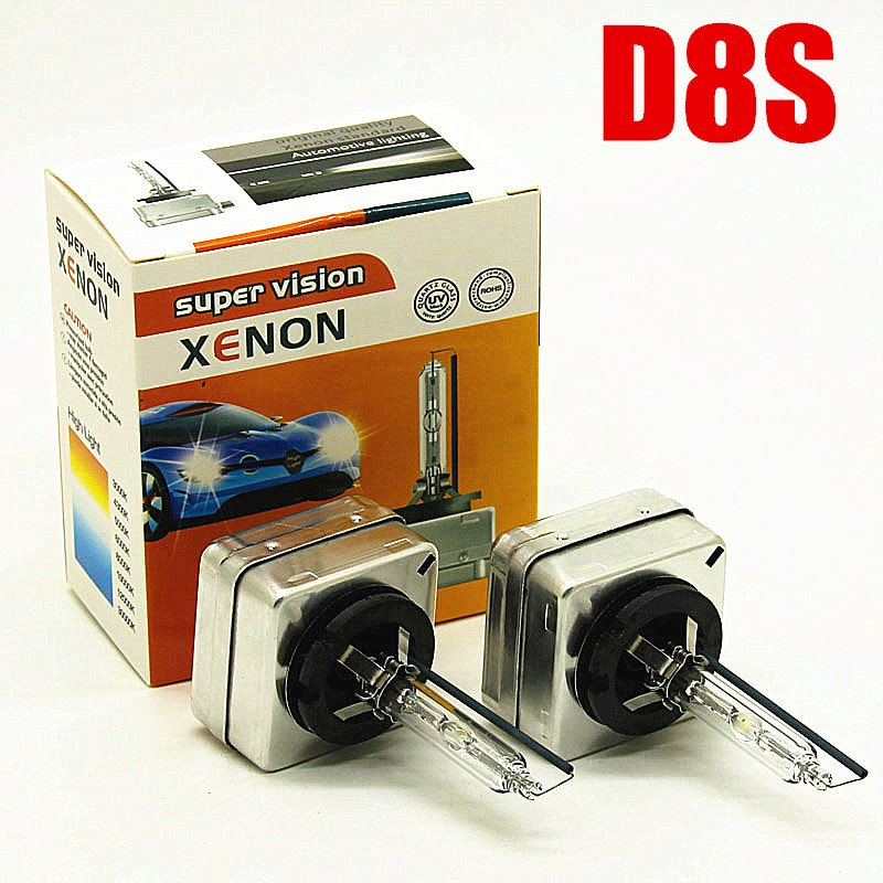 2pcs D8S Lamp Car 12v 35w 6000K 8000K 4300k HID XENON D8S Hid Headlight Bulb
