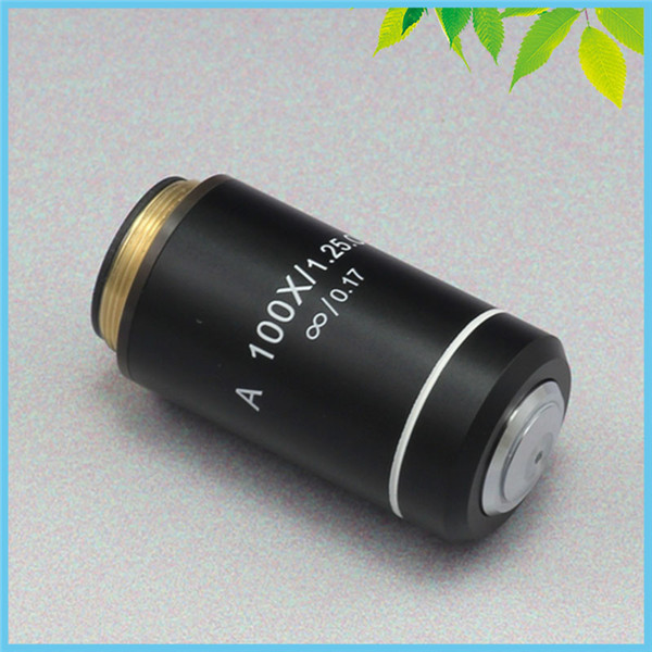 100X Infinity Achromatic Microscope Objective Lens for Biological Microscope Can be Used on Zeiss Olympus Infinity