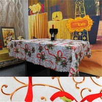 150 180cm Christmas Decorations Table Cloth For Home Party Christmas TableCloth Natal Party Ornament Table Cover