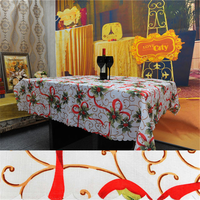 150*180cm Christmas Decorations Table Cloth For Home New Year Christmas  TableCloth Natal Party Ornament