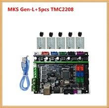 МКС GEN-L материнская плата 3D принтер контроль карты панель блока поддержка a4988 DRV8825 TMC2100 TMC2208 LV8729 TMC2130 шагового водителя