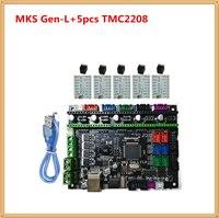 MKS GEN L mother board 3D printer card control unit panel support a4988 DRV8825 TMC2100 TMC2208 LV8729 TMC2130 stepper driver