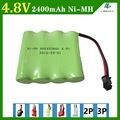 4.8V 2400mAh Remote Control toy electric lighting lighting security facilities AA battery RC TOYS Ni-MH battery group