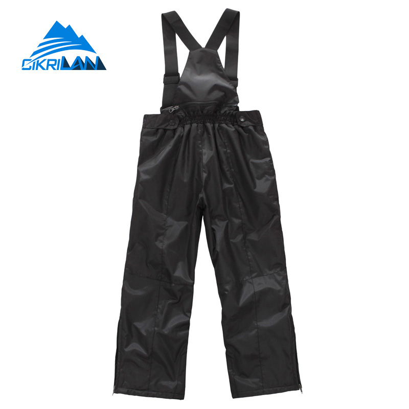 Hot Winter Kids Hiking Climbing Trousers Outdoor Windbreaker Waterproof Snowboard Ski Pants Boys Girls Camping Fishing