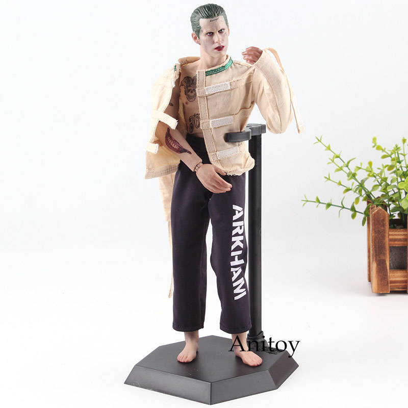 The Joker Figure Suicide Squad Action Figure DC Joker Arkham Asylum Ver. Crazy Toys 1/6 Scale PVC Collection Model Toys high quality 4 leaves clannad sakagami tomoyo uniform ver 1 6 25cm pvc action figure model toys gifts