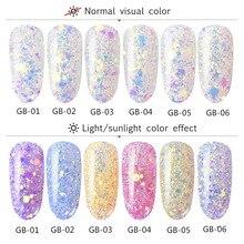 501 Новое модное оптическое зеркало-Хамелеон порошок DIY пыль дизайн ногтей Блестящий хромирующйи пигмент