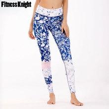 цены на Leggings For Fitness Women Yoga Pants Floral Print Yoga Leggings Sport Pants Female Sport Leggings Gym Running Pants Sportswear  в интернет-магазинах