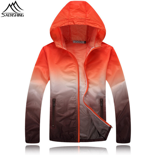 Women's plus size breathable rain jacket