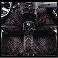 Car Floor Mat Leather Custom Proper Fit For Mercedes Benz CLK Car Left Wheel Full Set