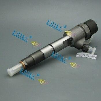 Erikc 0 445 110 343 liseron 공장 직접 가격 인젝터 0445110343 제트 인젝터 0445 110 343 자동차 디젤 인젝터 사용