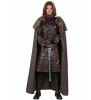 Северная Сумасшедший Король бойцов средневековый воин костюм для мужчин dynasty warriors Хэллоуин маскарадные костюмы сценический костюм