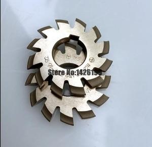 Image 5 - 8 Uds. NO.1 NO.8 herramientas de corte de engranaje de acero rápido, M0.4, M0.5, M0.6, M0.7, M0.8, M1, M1.25, M1.5, M2, M3, M4, Modulus PA20 grados