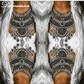 Dvacaman Fashion Sexy body cadena de Partido Del Club de Noche de la Cadena Del Cuerpo Del Encanto Exagerada Declaración de Las Mujeres Collar de la joyería del cuerpo 7519