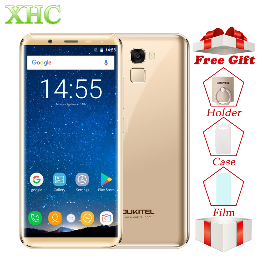 5,7 ''OUKITEL K5000 Smartphone 21MP 16MP Cámara Android 7,0 MTK6750T Octa Core RAM 4 GB ROM de 64 GB 5000 mAh Dual SIM 4G teléfono móvil
