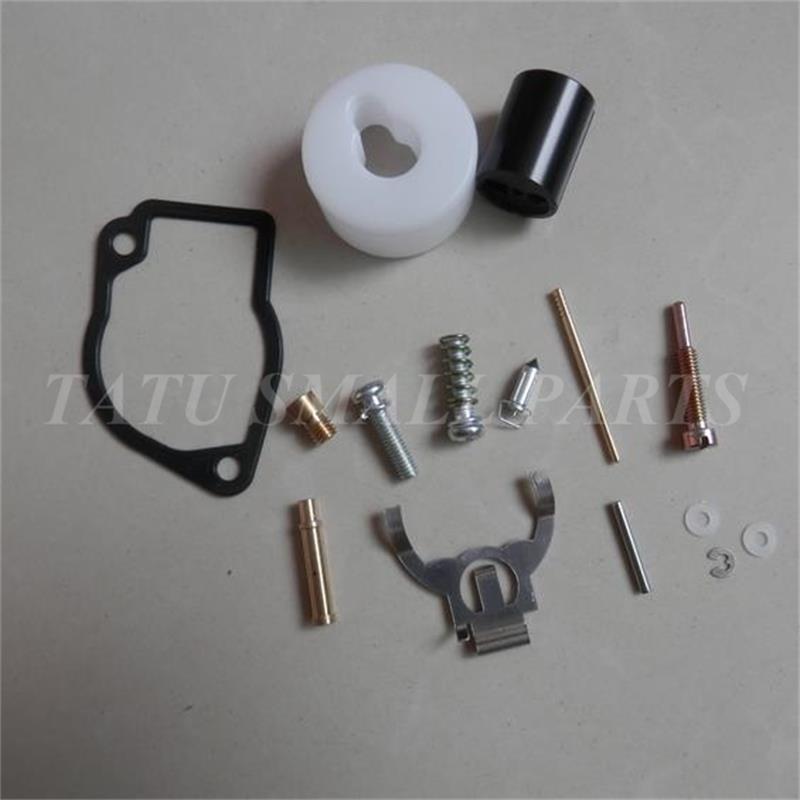 CARBURETOR REPAIR KIT FOR ROBIN NB411 EC04 TRIMMER BG411 CARB  REBUILD FLOAT PIN SCREW GASKET NEEDLE VALVE SPRING OVERHAULT
