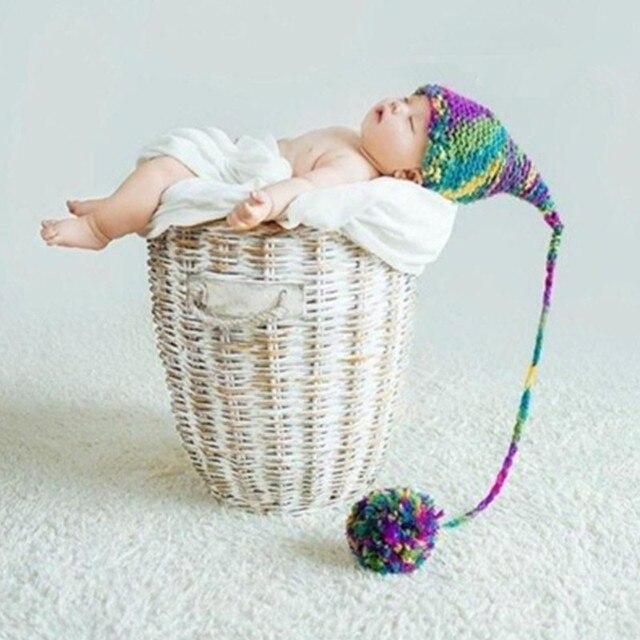 Accesorios del bebé sombreros de lana unisex bebé 100 días ...