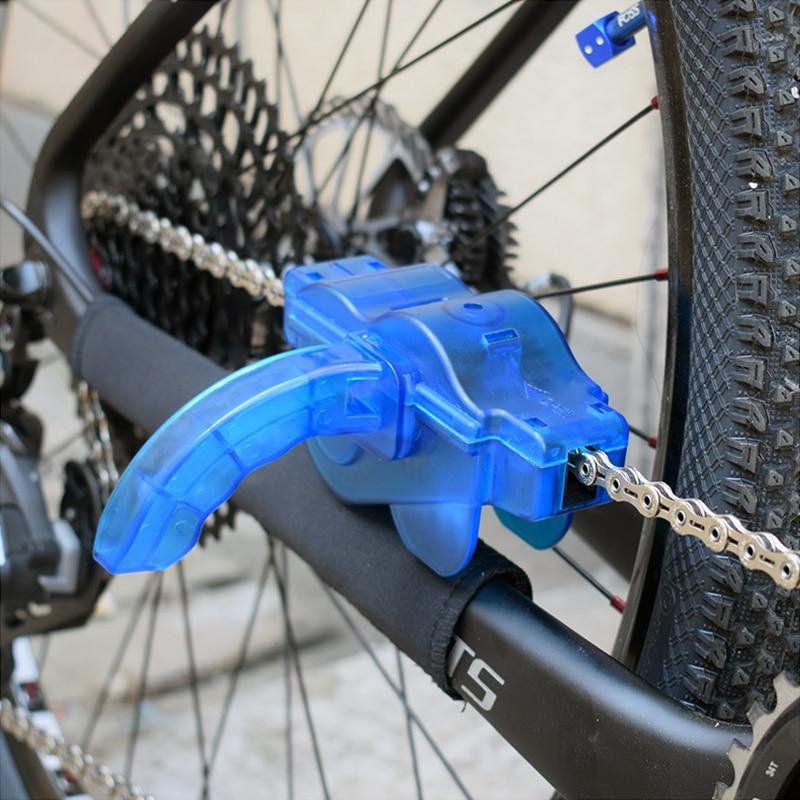 Cleaning Brushes Scrubber Cycling Bike Bicycle Chain Wheel Wash Cleaner N6C U5P7