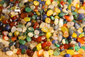 Buddhist seven precious stones/ loading Tibet / for Manzanar natural gemstones mixed with colorful gems shaped pieces /50g