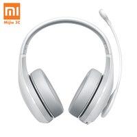 Original Xiaomi Headphone Bluetooth Earphone Fashion Karaoke MI Wireless Bluetooth Headset with MicophoneHead mounte White