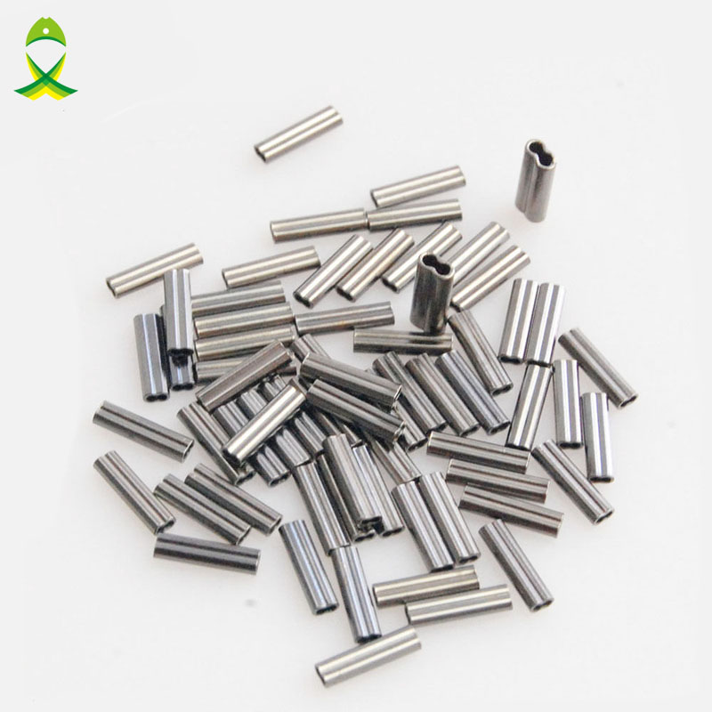 Stainless Steel Fishing Wire Tube Double Copper Tube Line Crimping Sleeves