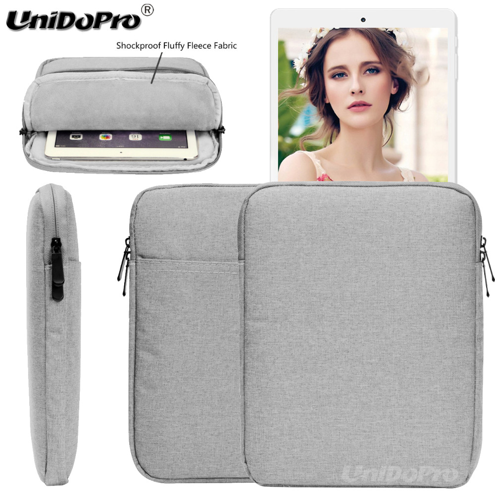 Unidopro Waterproof Pouch Case for <font><b>Teclast</b></font> T20 , M20 4G , <font><b>A10H</b></font>, X98 plus II 9.7, X98 Plus Tablet Protective Sleeve Bag Cover image