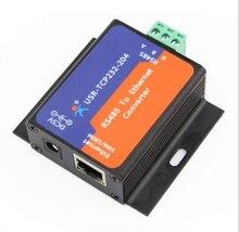 5Pc USR TCP232 304 내장 RS485 tcp/ip 이더넷 서버 변환기 모듈 내장 웹 페이지 DHCP/DNS 지원 Q14870 5