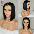 Eva Hair Straight Full Lace Human Hair Wigs With Baby Hair Pre Plucked Short Human Hair Bob Wigs For Women Brazilian Remy Wigs