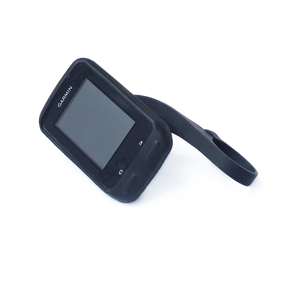 31.8mm Bicycle Computer Handlebar QuickView Stopwatch Black Mount + Protect Rubber Black Case for Garmin edge 510