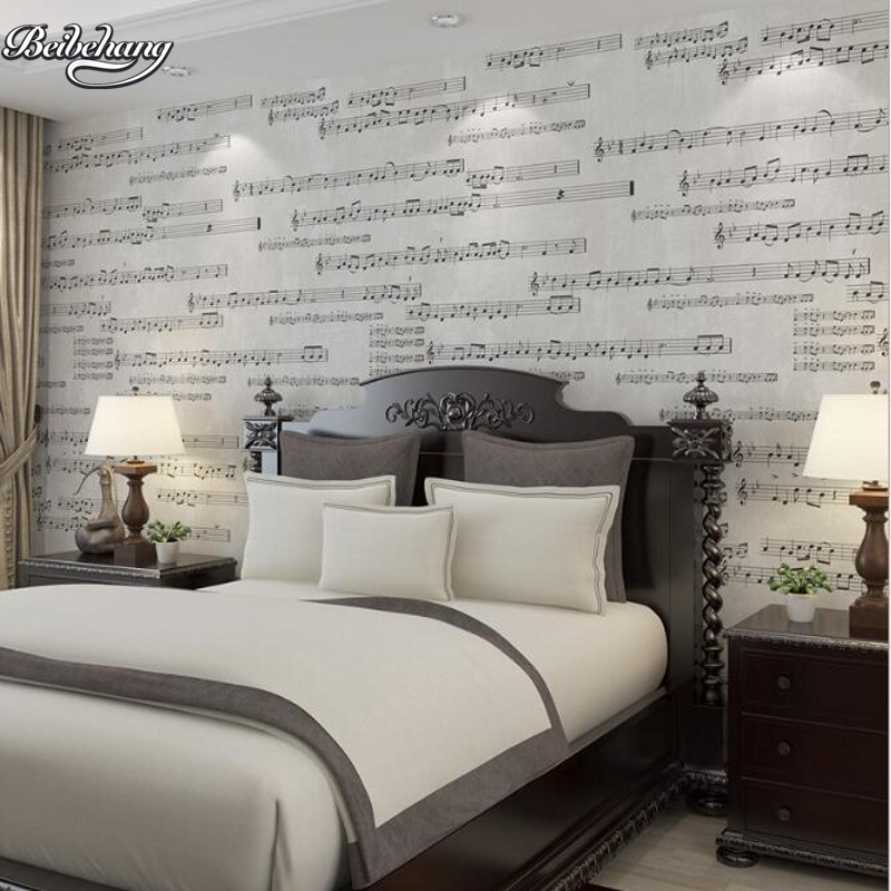 beibehang American Village Retro Streets Music Wallpapers Nonwovens Wallpapers Living Room Bedroom Piano Room Home Decoration beibehang nonwovens healthy fashion