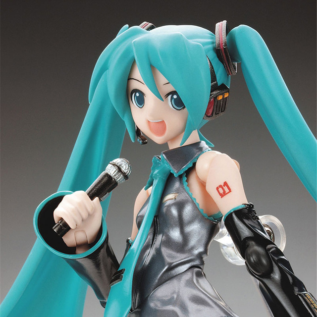 FMRXK 15cm Movable Anime Action Figure Hatsune Miku Model Toy Doll Toy PVC Figma 014 Heroines Collectible 4