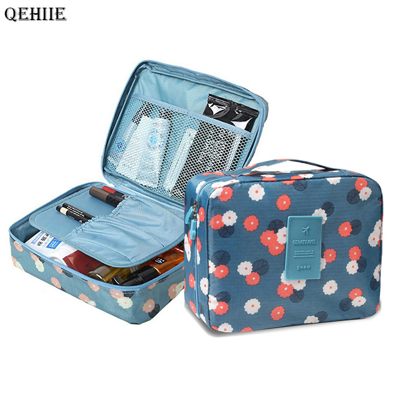 High Quality Make Up Bag Women Waterproof Cosmetic MakeUp Bag Multifunction Travel Girl Organizer Cosmetic Case Toiletry Bags цена