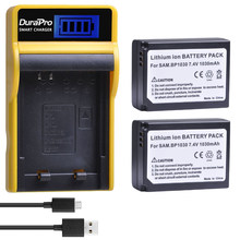 2 adet 1030mAH BP-1030 BP 1030 şarj edilebilir pil + LCD Şarj Için Samsung NX200 NX210 NX300 NX500 NX1000 NX1100 NX-300M kamera