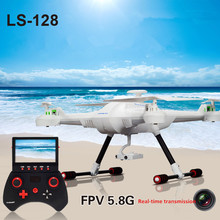 2016 rc drone toys LS-128 2.4G 4CH 6-Axis GYRO 5.8G FPV With 2MP Camera Live Video RC Quadcopter VS V686G HuaJun HJ817 W609-8