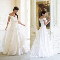 Graceful women white and ivory plus size beach wedding dresses boho bridal gowns sweetheart robe de mariee vestido de novia