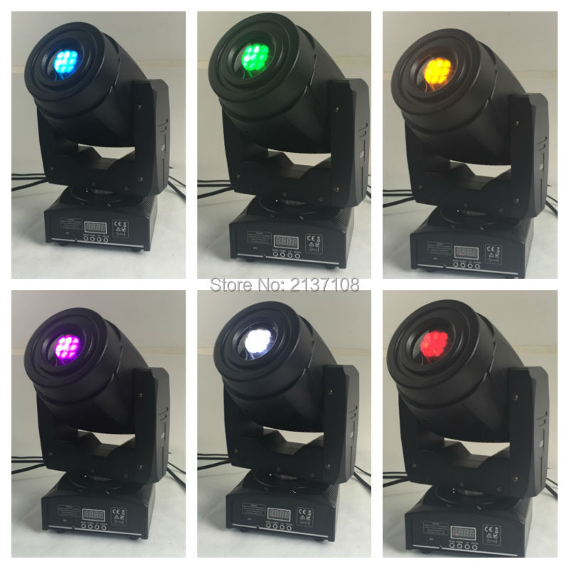 60W White LED Spot Moving Head Light Sonido Profesional Auto Sound DMX DJ Disco Party Wedding Stage Effect Projector Equipment