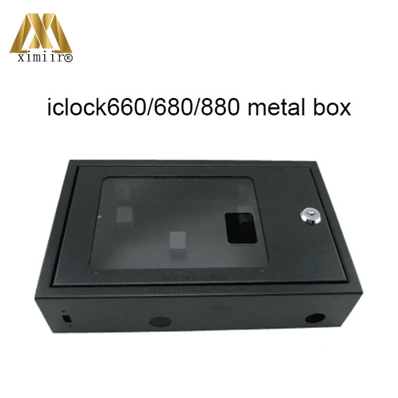 iclock300, iclock360, iclock660, iclock680, iclock880 time attendance metal protect box with key no include machineiclock300, iclock360, iclock660, iclock680, iclock880 time attendance metal protect box with key no include machine
