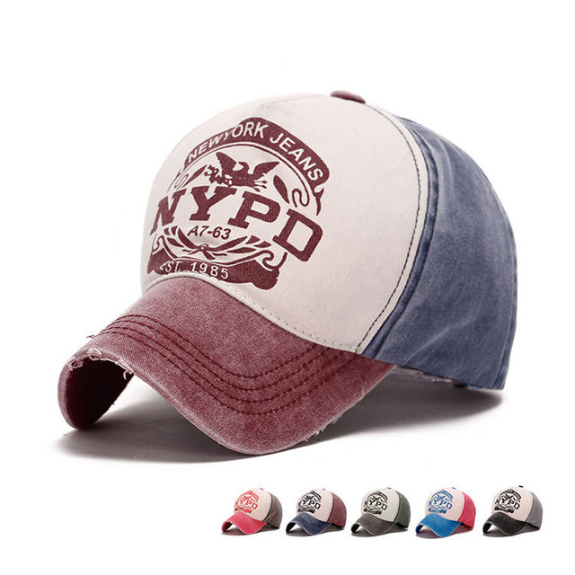 81774d4f159 Hip Hop New York stars Baseball Caps Chapeu Gorras planas Casquette truck  caps Women men NYPD