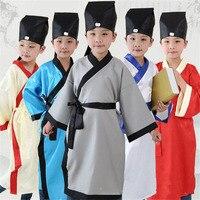 2018 ropa de Los Niños Fijó para Varones Adolescentes Chino Tradicional Estilo Uniforme Escolar Muchachas Muchachos de la Ropa Del Bebé Niños Disfraces