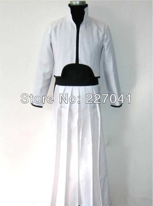 Bleach Grimmjow Anime Kimono Cosplay Halloween Costume Free Shipping
